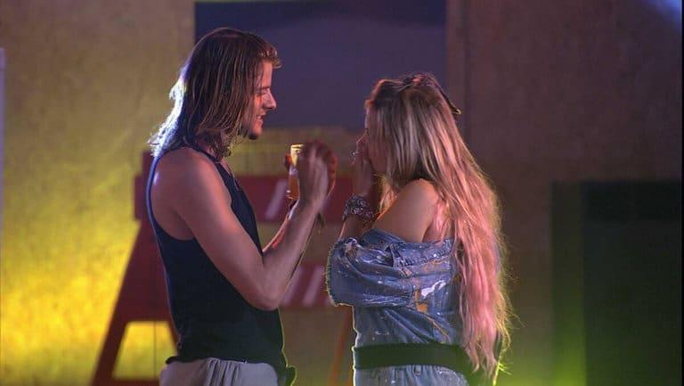 Marcela e Daniel na Festa
