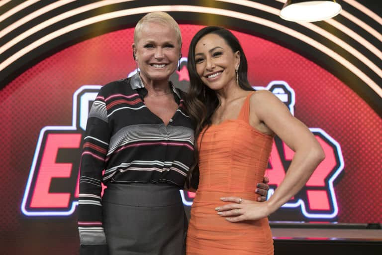 Sabrina Sato receberá Xuxa na estreia de Domingo Show