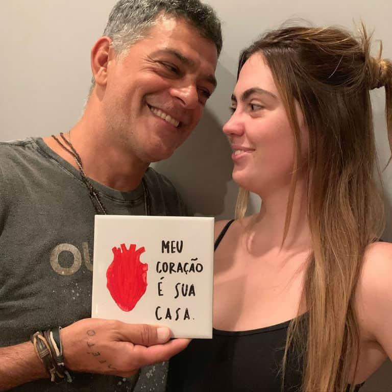Eduardo Moscovis e a filha Gabriela
