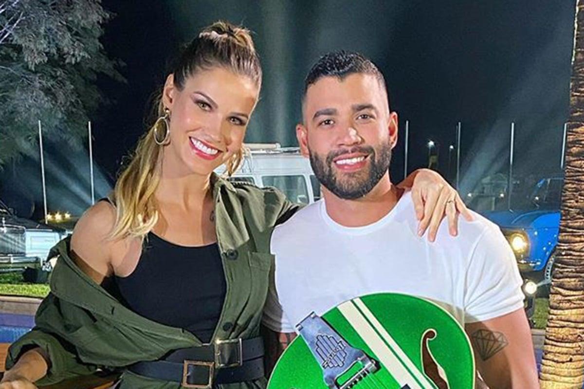 Andressa Suita e Gusttavo Lima