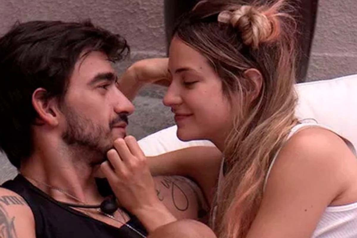 Guilherme e Gabi no Big Brother Brasil