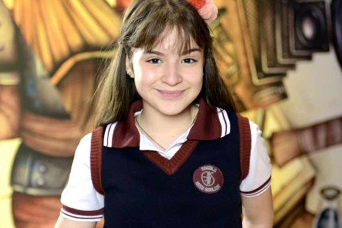 Sophia Valverde em As Aventuras de Poliana