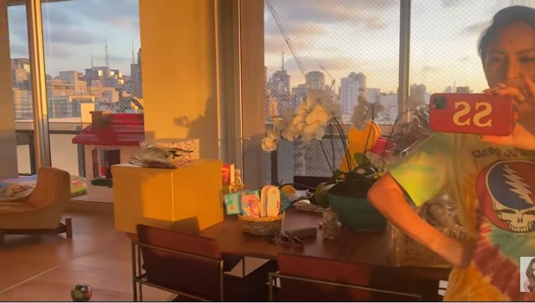 Apartamento de Sabrina Sato