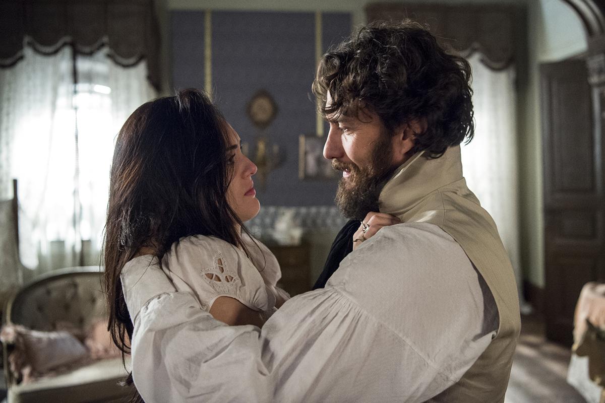 Anna e Thomas em Novo Mundo