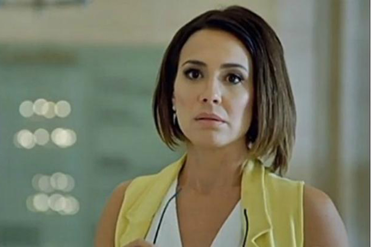 Zoe (Juliana Knust) na novela Apocalipse