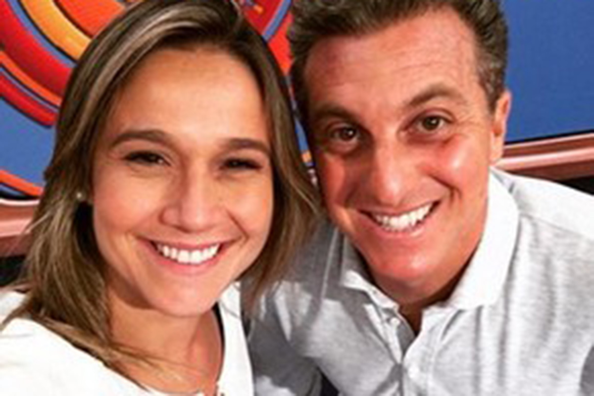 Fernanda Gentil e Luciano Huck