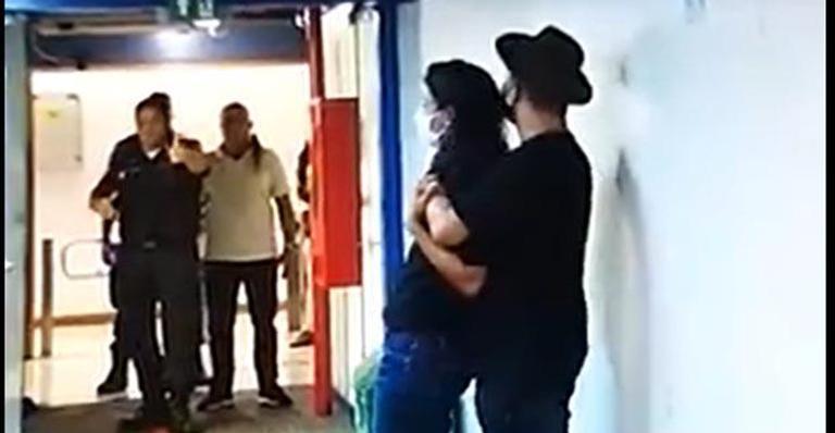 Homem armado invade a Globo