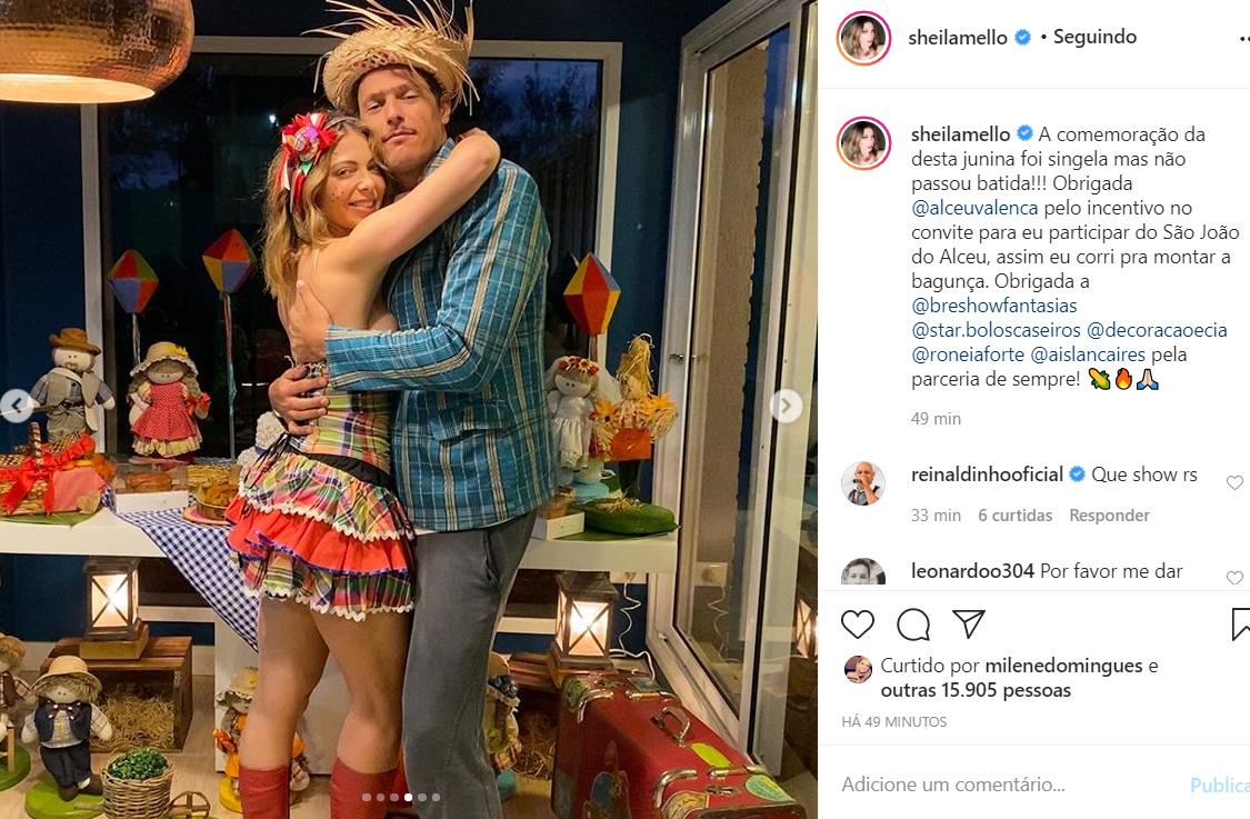 Sheila Mello e João Souza