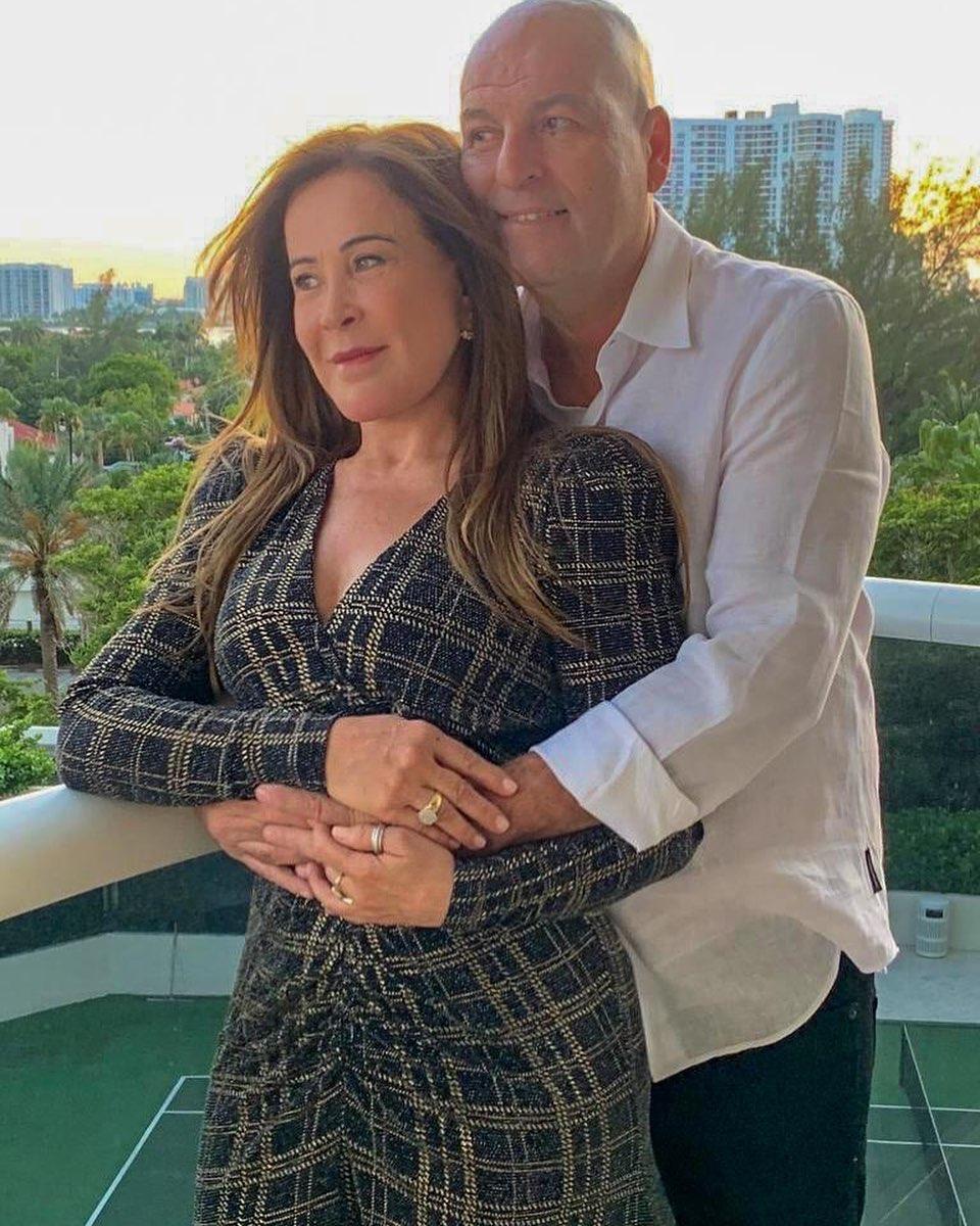 Zilu Camargo e o novo namorado