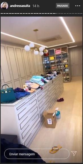 Closet de Andressa Suita