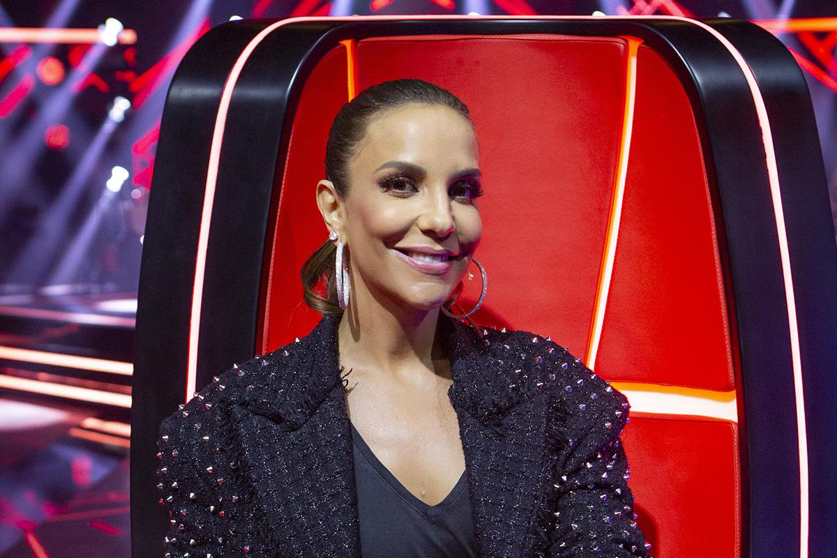 Ivete Sangalo no The Voice Brasil - Globo / Isabella Pinheiro