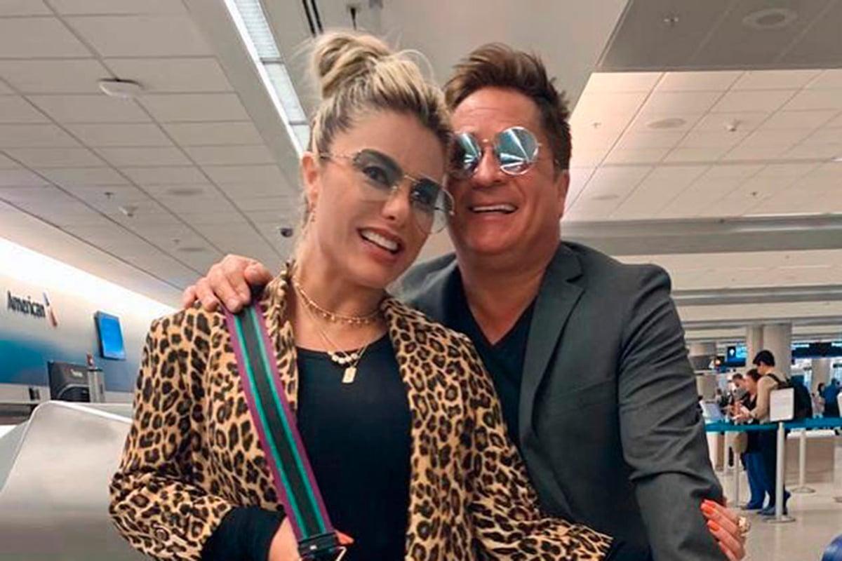 Poliana Rocha e Leonardo