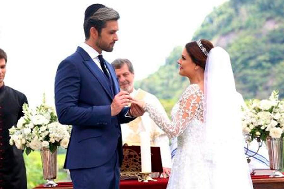 Ricardo e Isabela se casam em Apocalipse