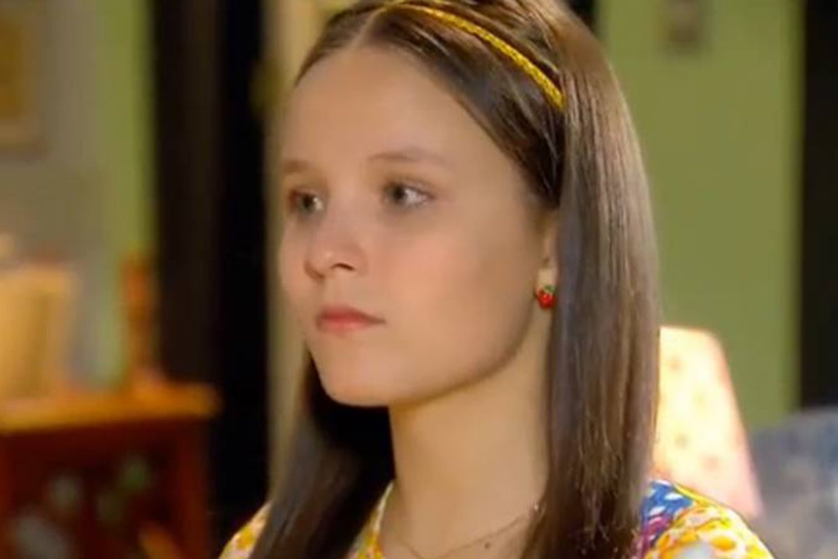 Manuela na novela Cúmplices de um Resgate
