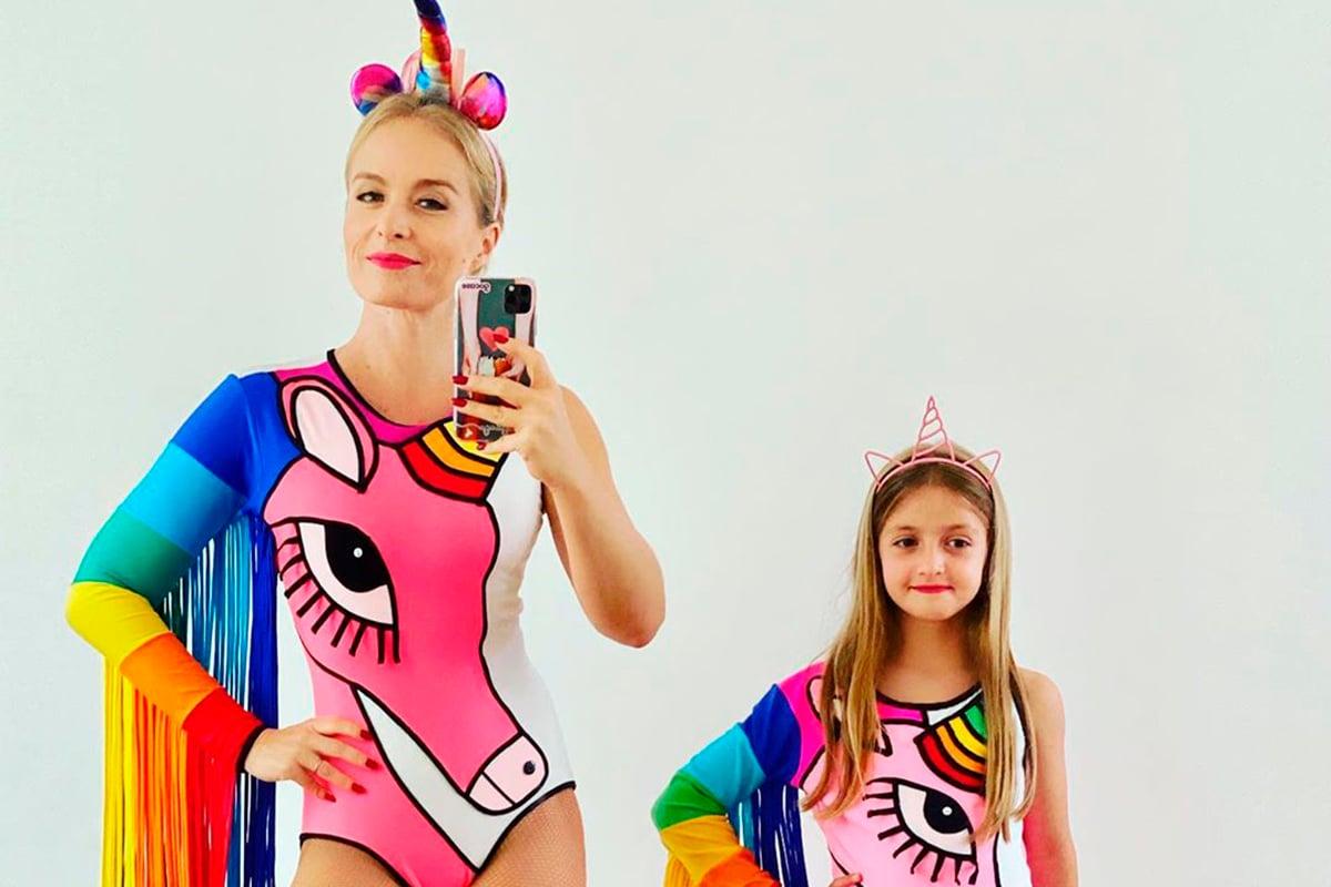 Angélica e a filha, Eva