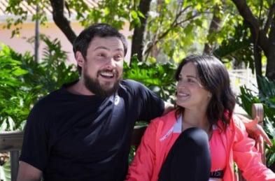 Sergio Guizé e Bianca Bin