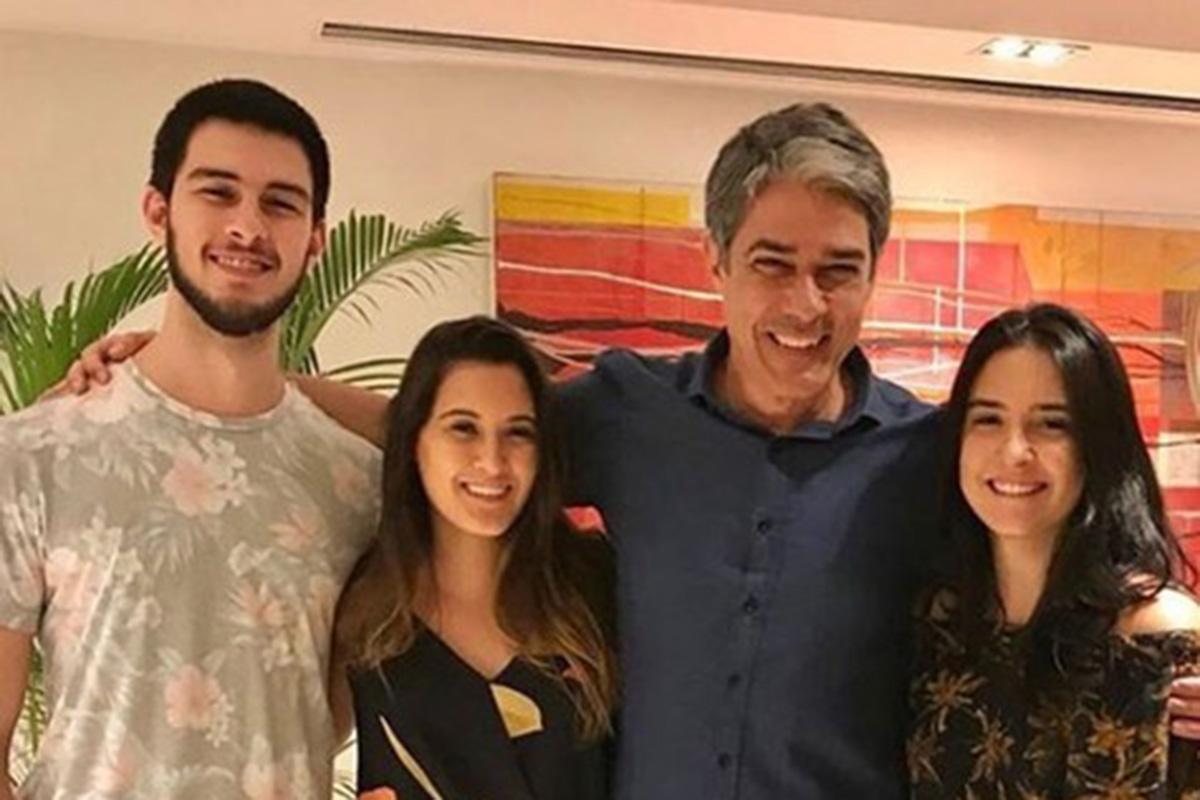 Vinicius, Beatriz, William Bonner e Laura