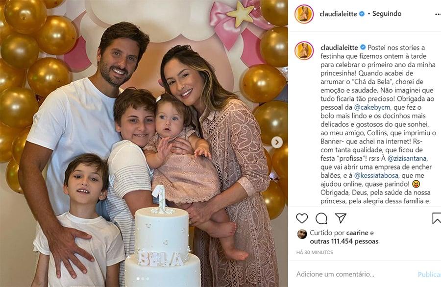 Aniversário da filha de Claudia Leitte
