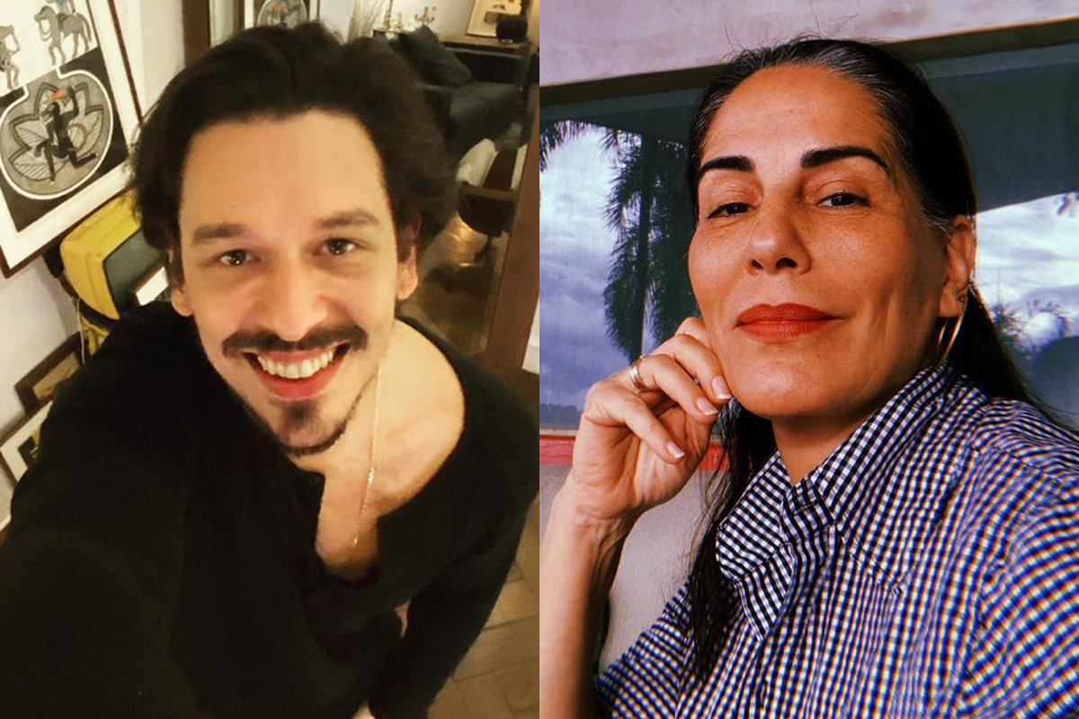 João Vicente de Castro e Gloria Pires
