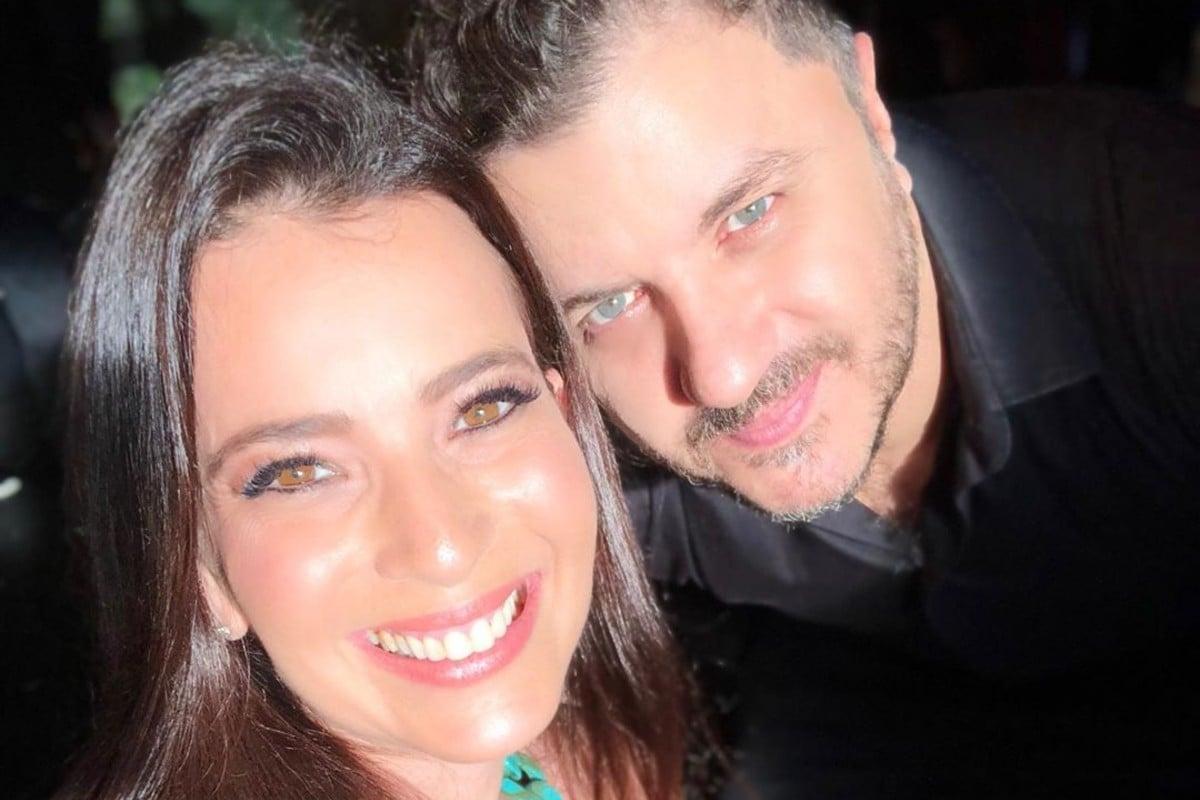 Izabelle Steis e Mauricio Manieri