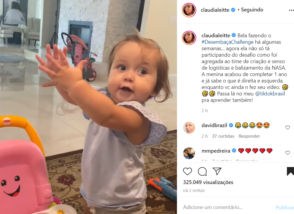 Bela, filha de Claudia Leitte