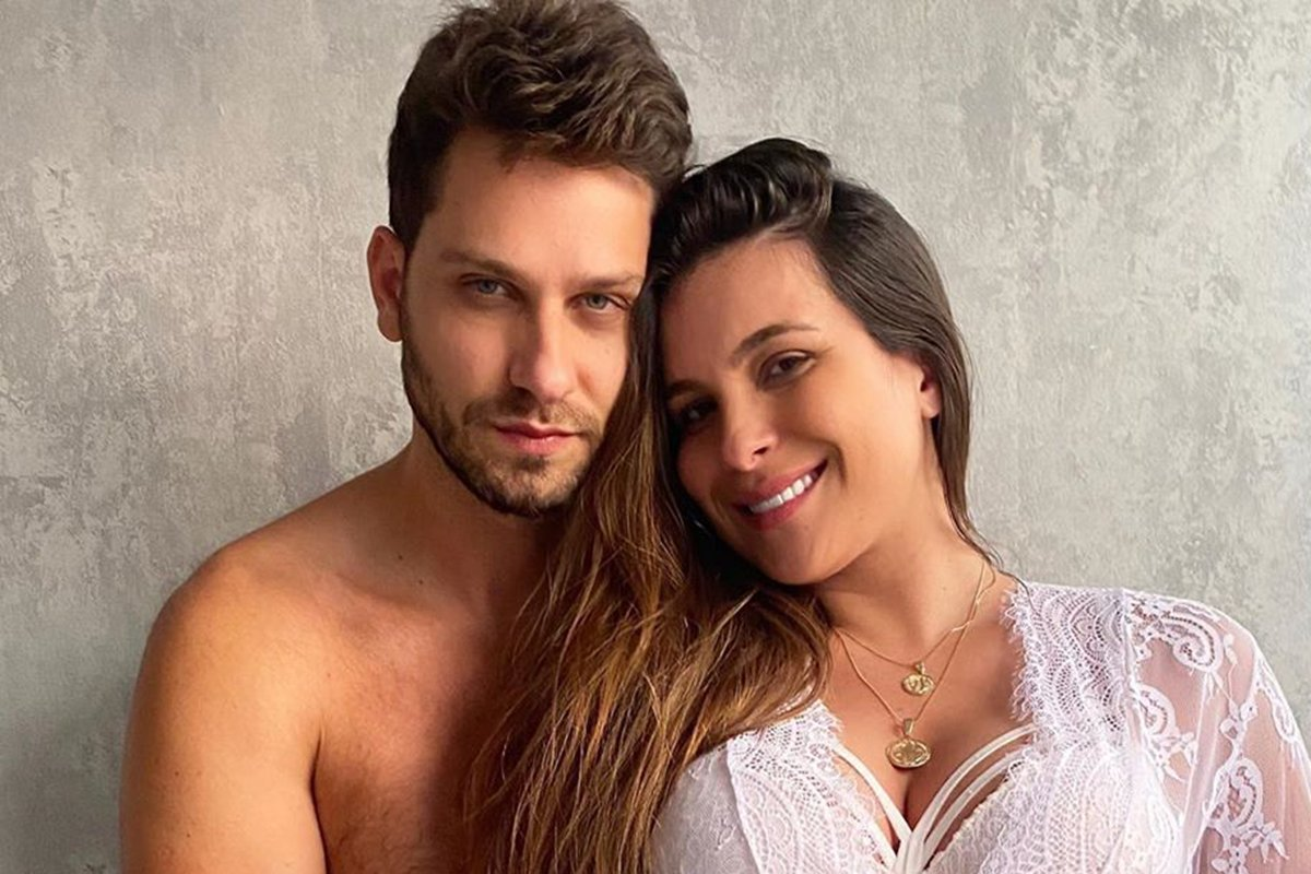 Eliéser Ambrosio e Kamilla Salgado
