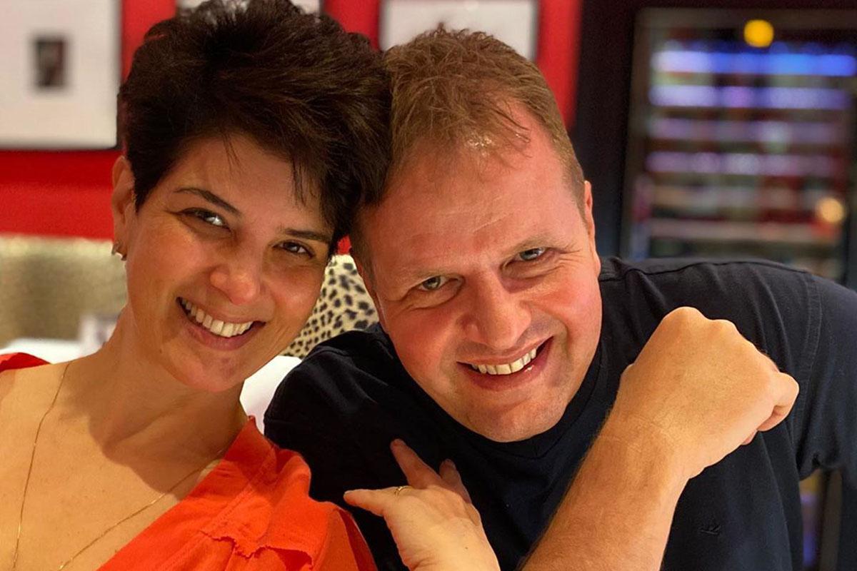 Mariana Godoy e o marido, Dalcides