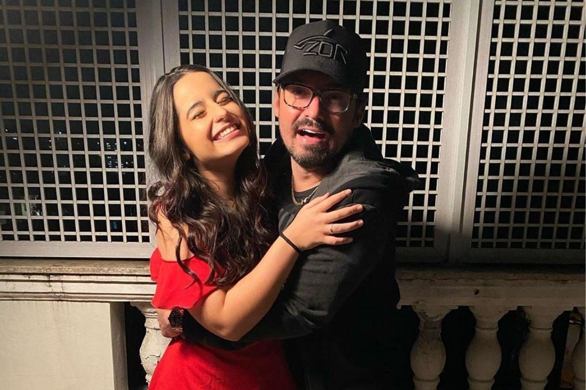 Fernando Zor e sua filha, Kamily Zorzanello