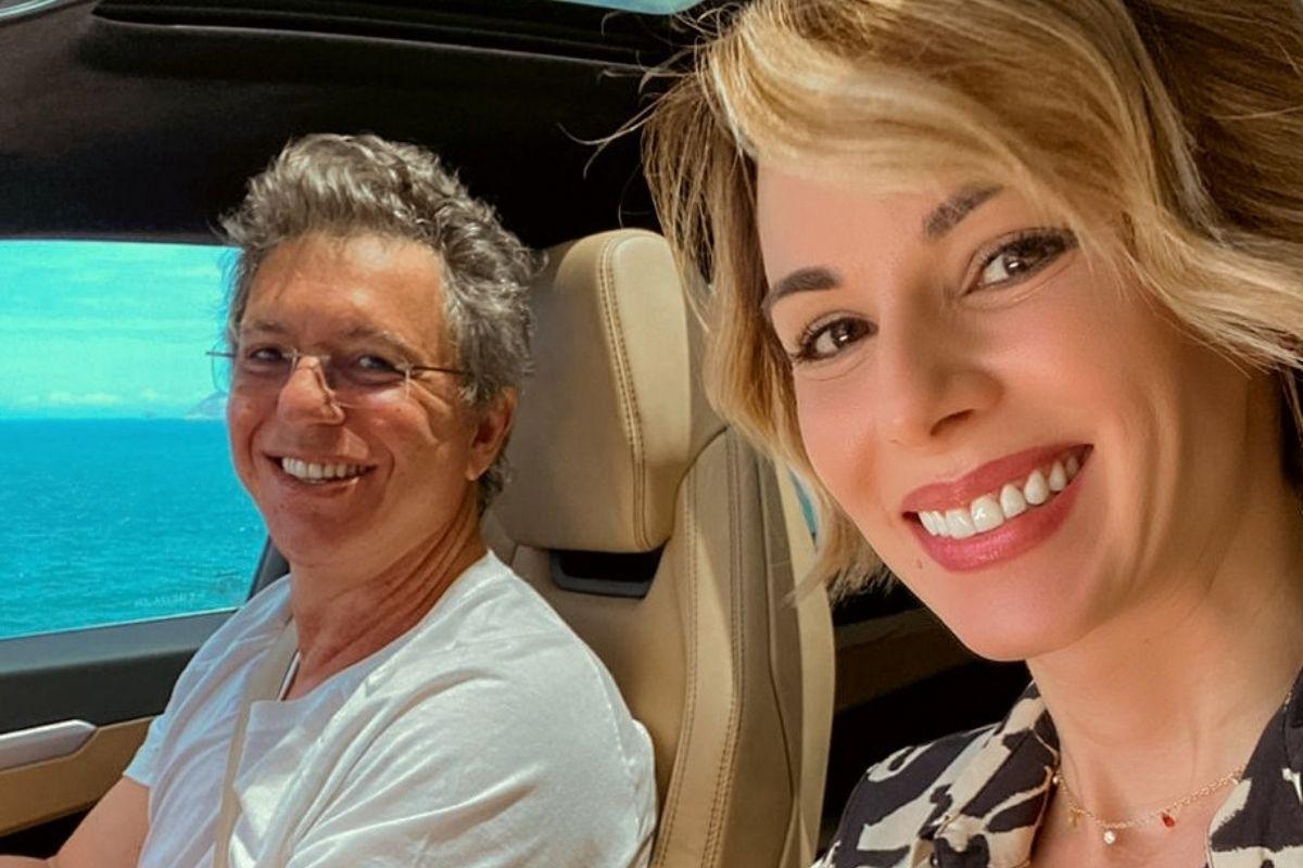 Boninho e Ana Furtado