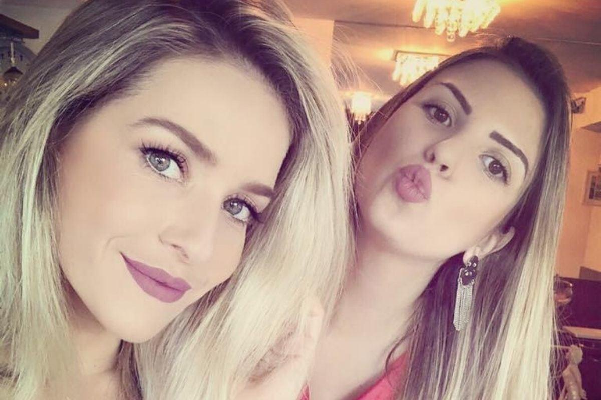 Layla Figueiredo e Monique Alfradique / Foto: reprodução.