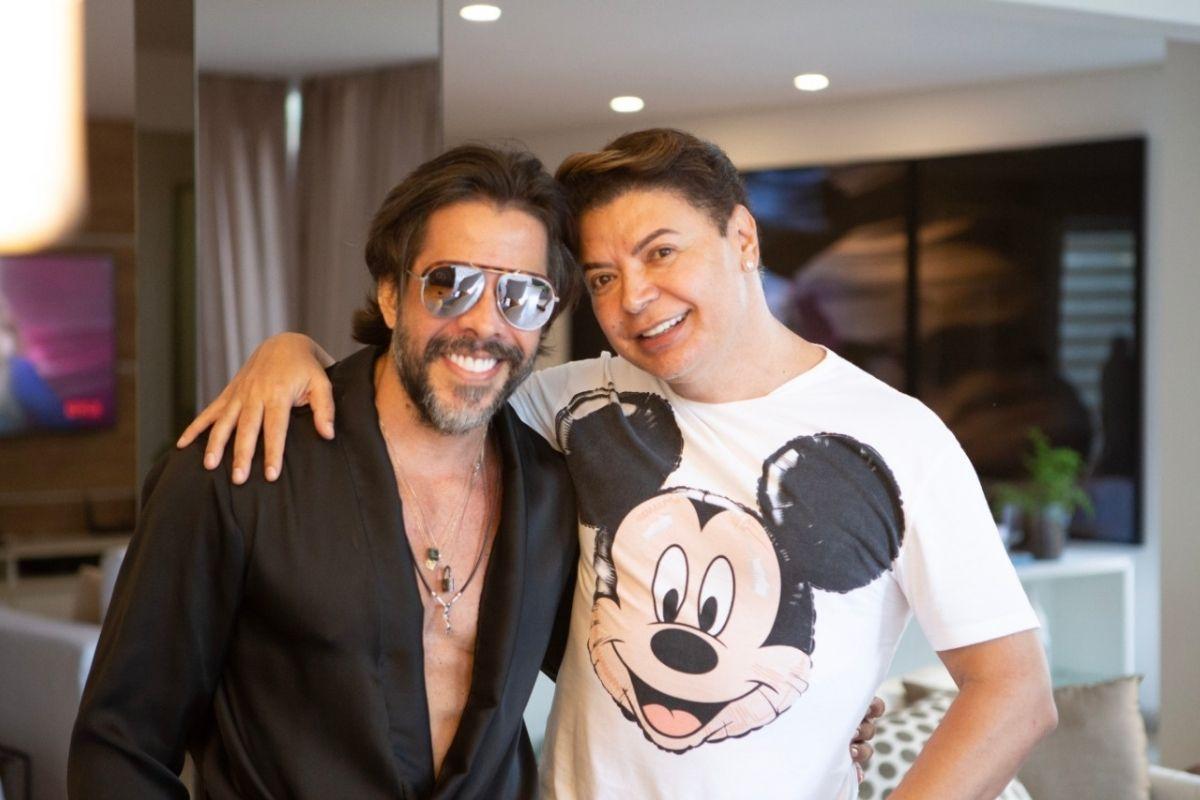 Newton Dias e David Brazil. Foto: reprodução.