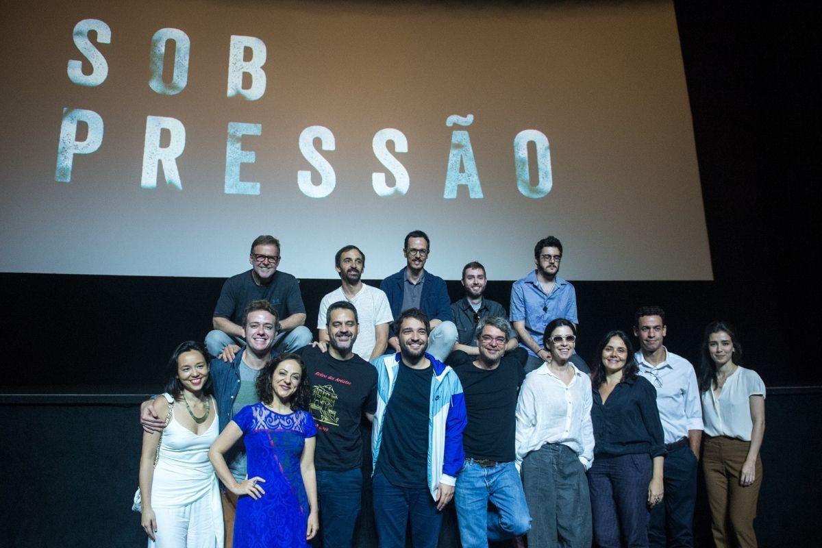 Elenco de Sob Pressão. Foto: Globo/Raquel Cunha