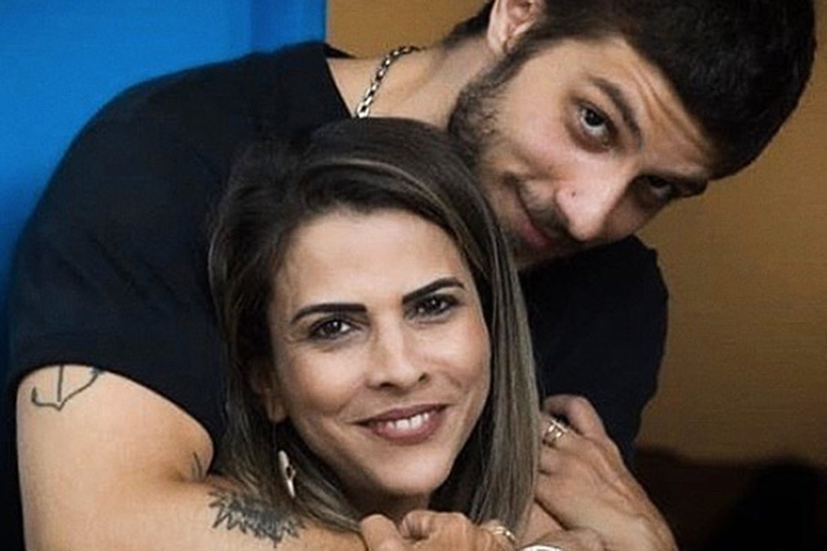 Chay Suede e a mãe, Herica Godoy