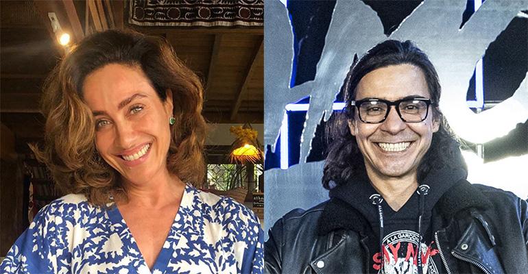 Cynthia Benini e André Gonçalves