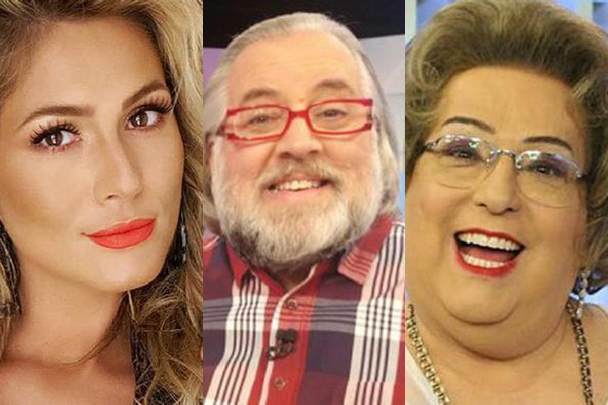 Lívia Andrade, Leão Lobo e Mamma Bruschetta