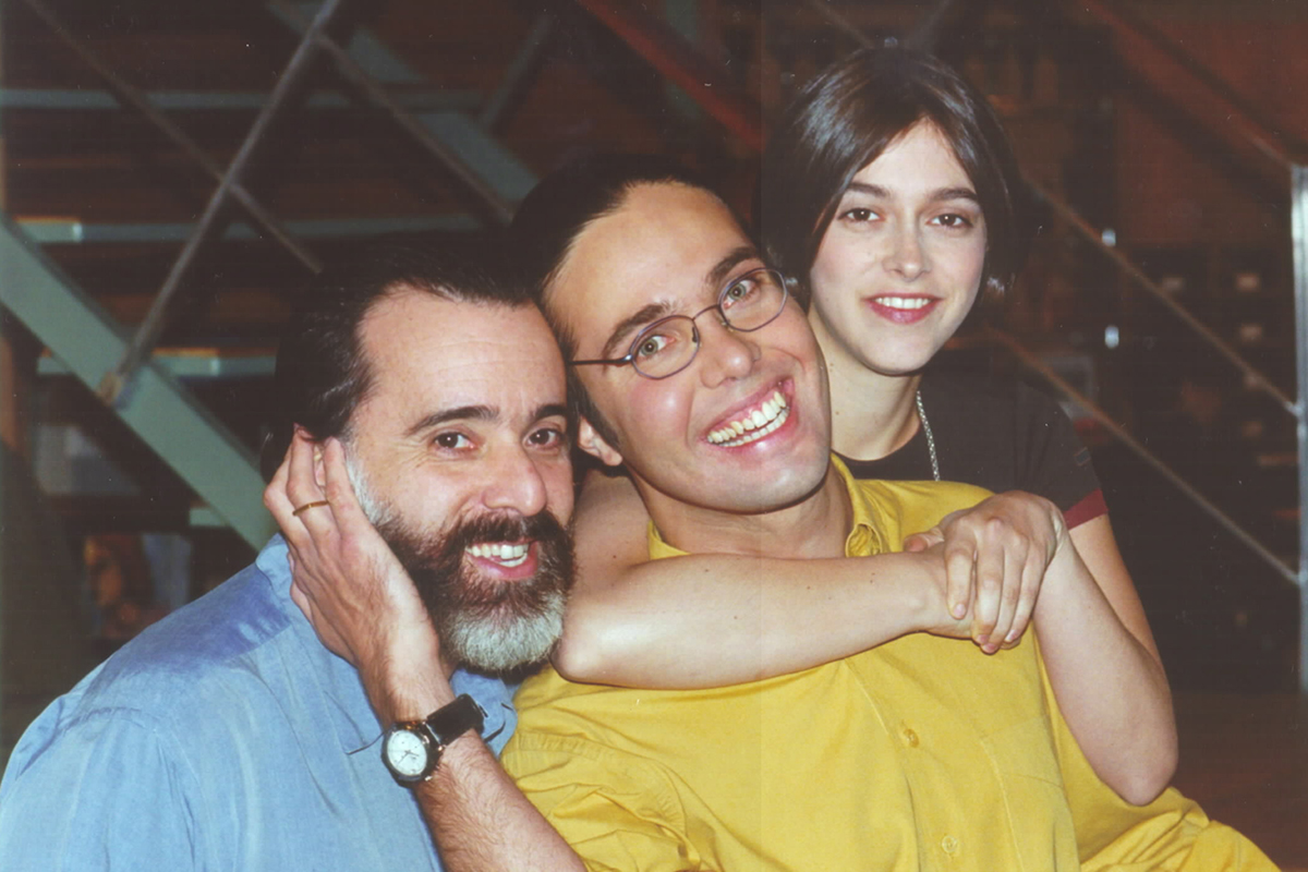 Tony Ramos, Flavio Silvino, Júlia Feldens - Crédito: Jorge Baumann