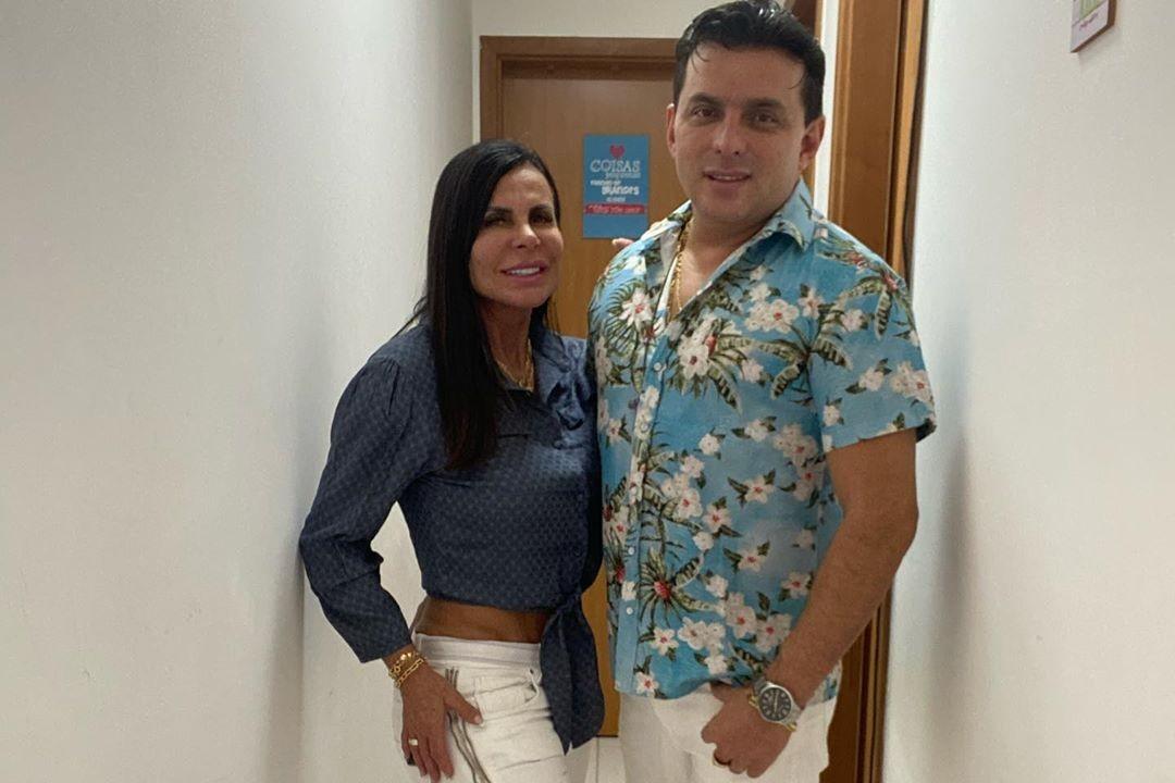 Gretchen e Esdras de Souza - reprodução/Instagram