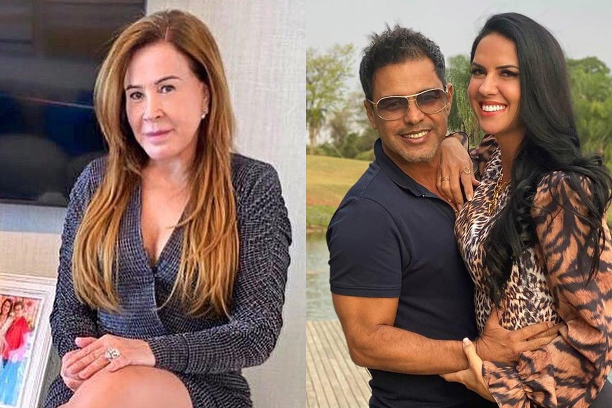 Zilu Camargo, Zezé Di Camargo e Graciele Lacerda