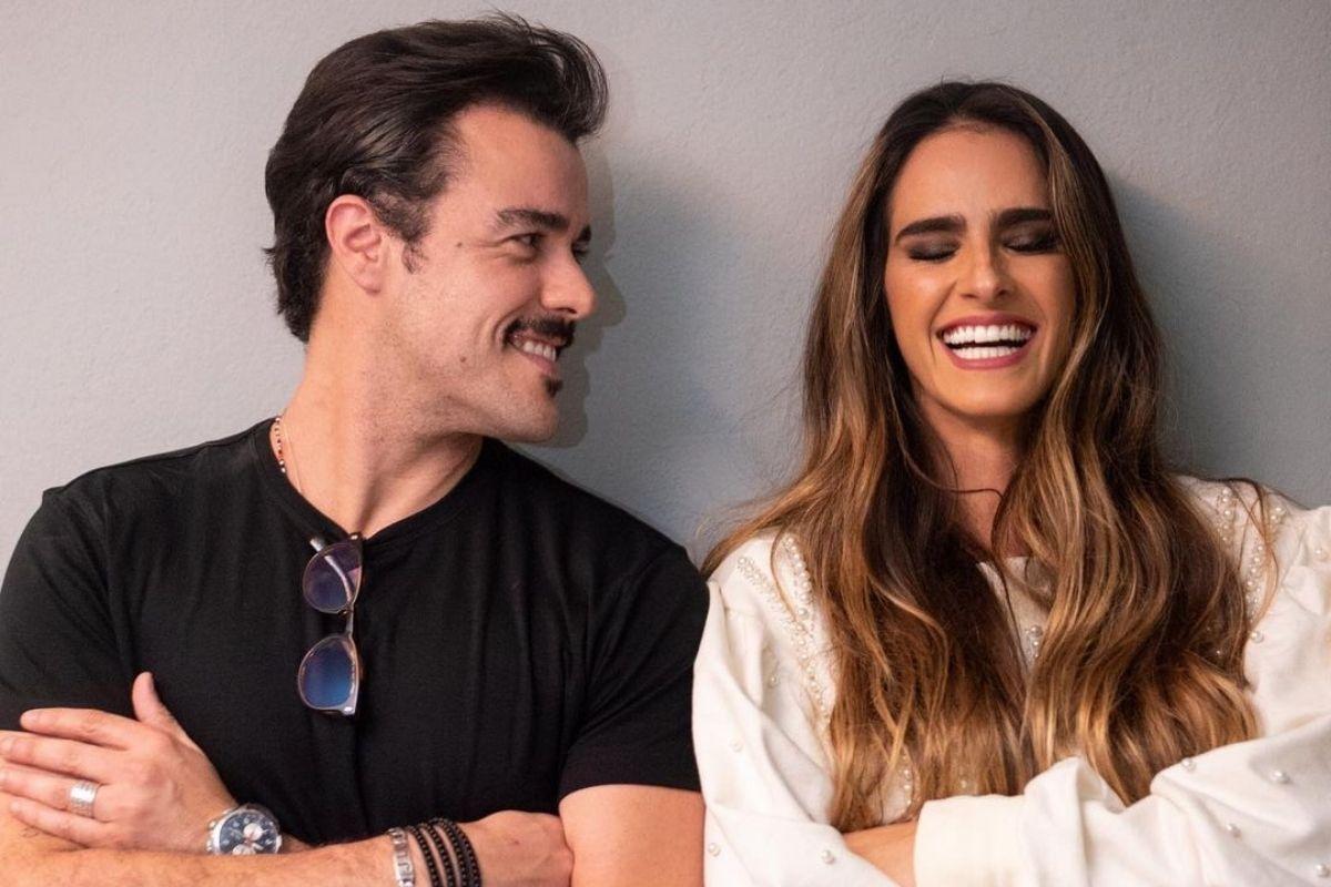 Joaquim Lopes e Marcella Fogaça