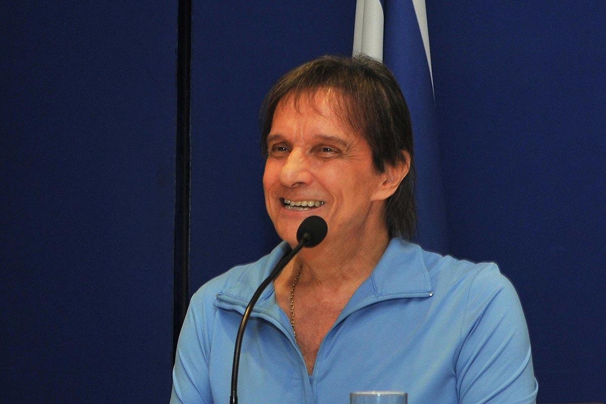 Imagem da época da gravação do show Roberto Carlos em Jerusalém - TV Globo/ Claudia Schembri