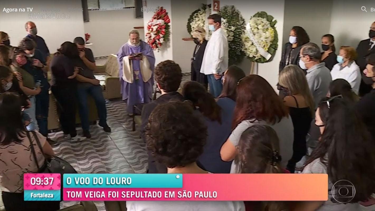 Última despedida ao Tom Veiga, o eterno Louro José