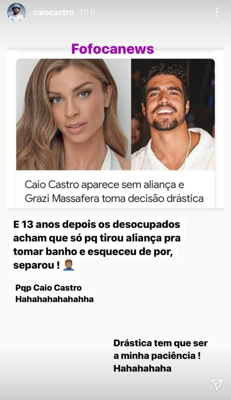 Grazi Massafera e Caio Castro