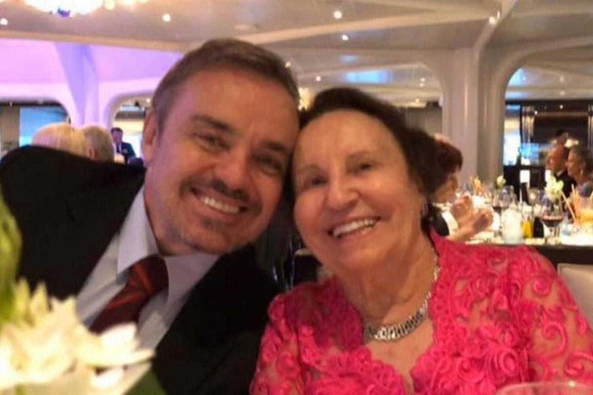 Gugu Liberato e a mãe, Maria do Céu