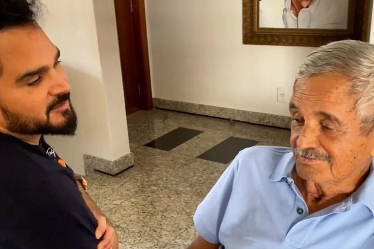 Luciano Camargo e o pai, Francisco