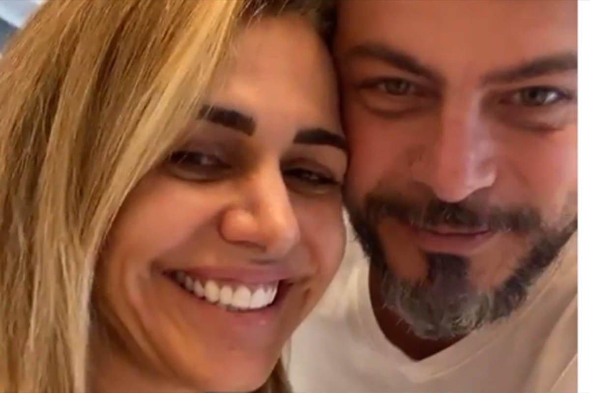 Andreia e Luigi Baricelli