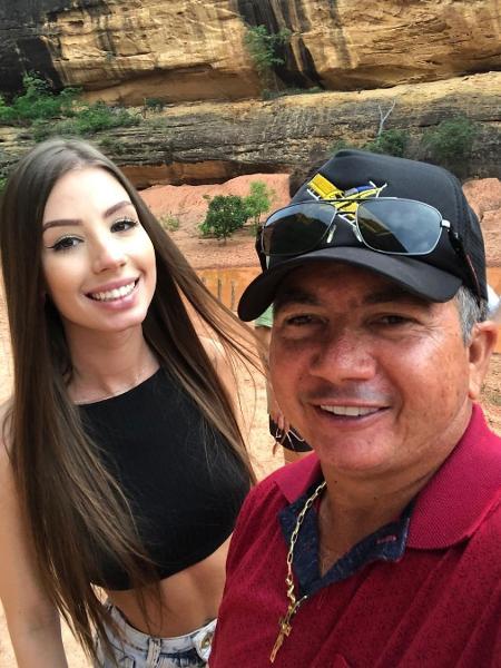 Maria Lina e o sogro