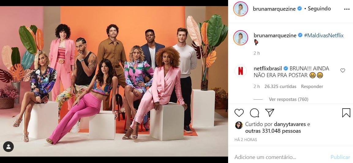 Elenco da série Maldivas, da Netflix