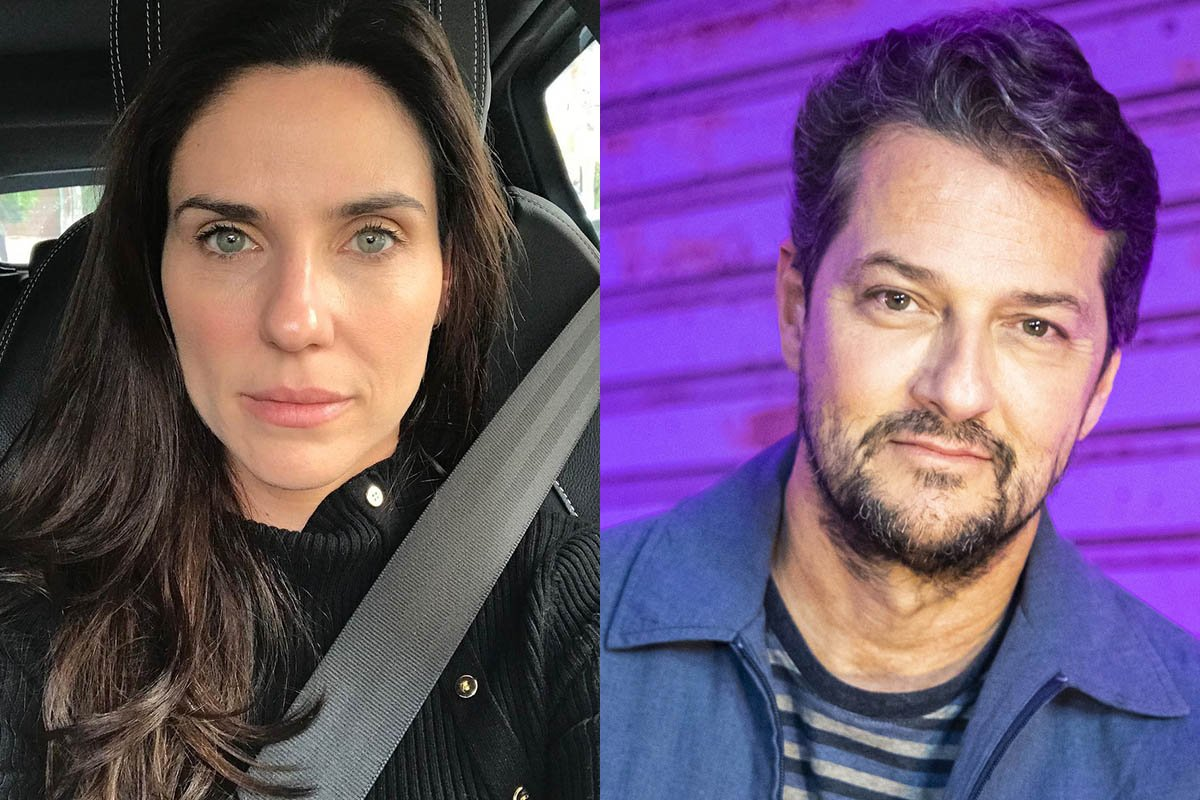 Rafaela Mandelli e Marcelo Serrado