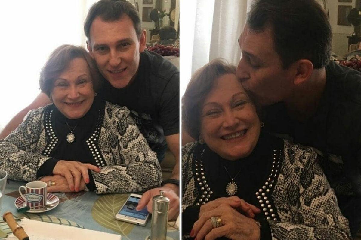 Paulo Goulart Filho e Nicette Bruno