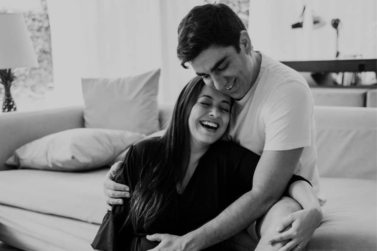 Marcelo Adnet e Patrícia Cardoso
